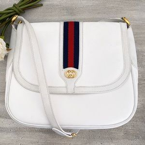 Gucci Ophidia Mini GG Web Saddle Crossbody Bag